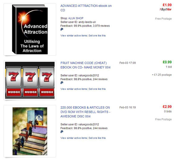 How To Sell An Ebook On Ebay The Right Way