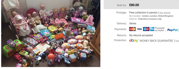 Toy bundles for sale