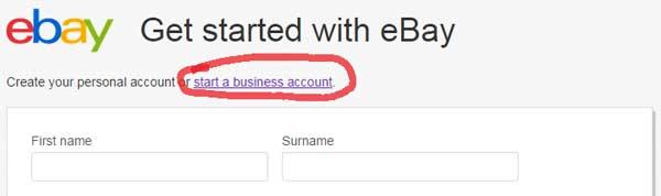 open-ebay-account