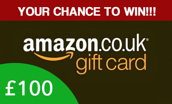 100 Amazon Gift Cards to my Blog Readers!