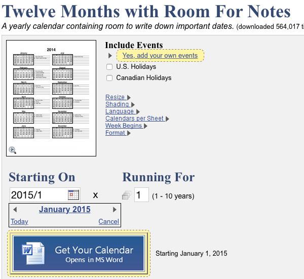 calendars-that-work