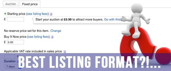 best-ebay-listing-format
