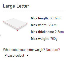 How 10 grams can make or break your business royal mail large letter spiritdancerdesigns Images