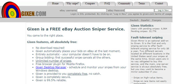 gixen-ebay-sniper