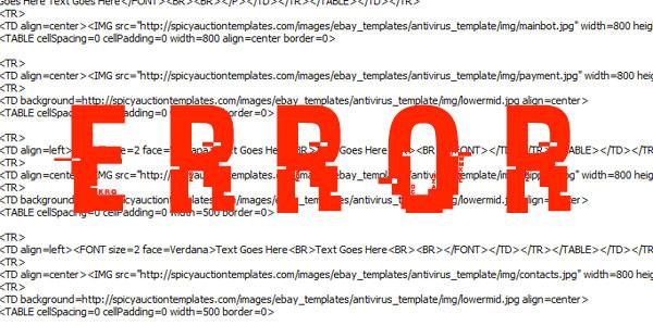 turbo-lister-error