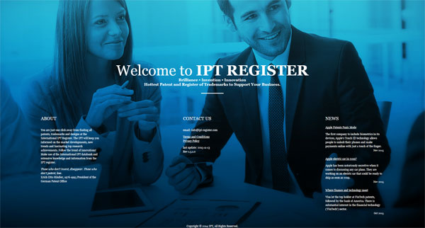 ipt-register-website