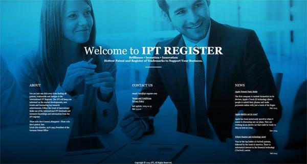 ipt-register-website