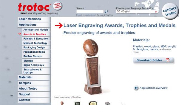 trotec-laser-engraver