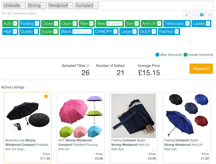 terapeak-seo-listings