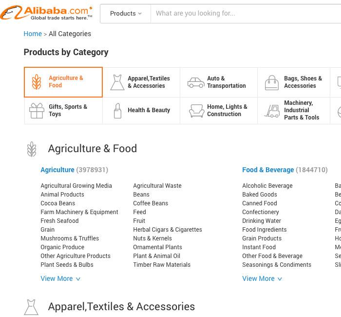alibaba-categories