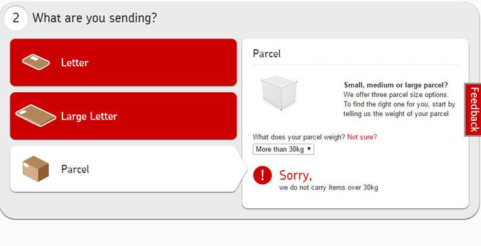 parcels