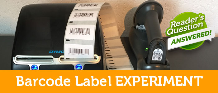 How To Print Thousands of Barcodes Quickly Using Dymo Label Printer!