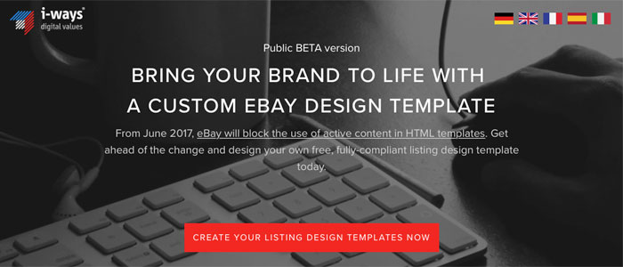 EBays NEW Feature FREE EBay Listing Template BUILDER - Html ebay listing template free