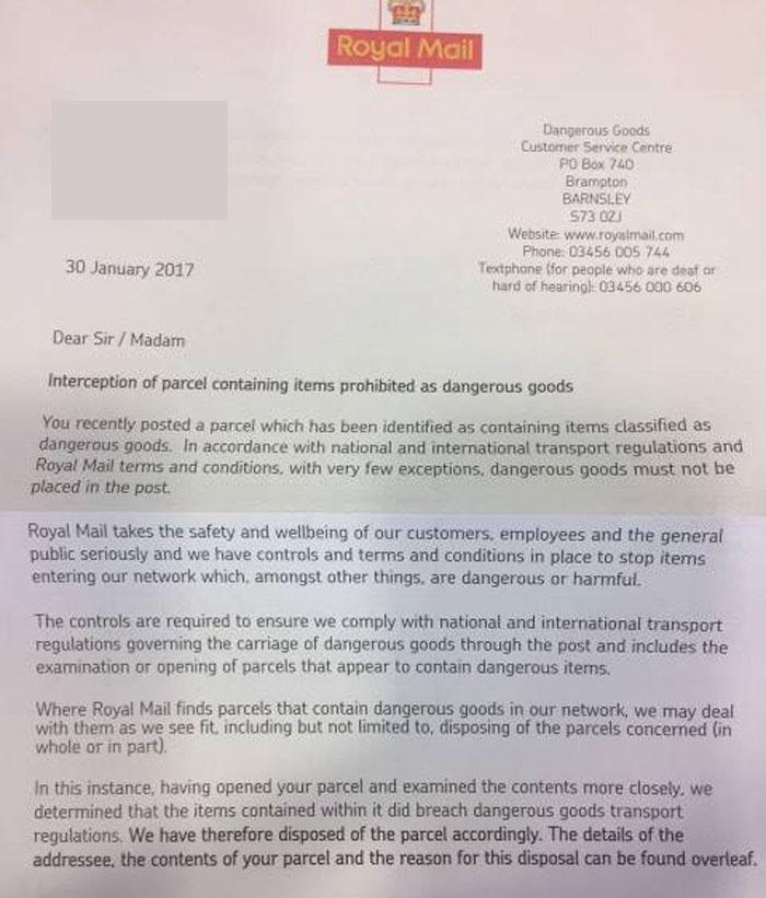 Royal Mail Sending A Letter To Santa