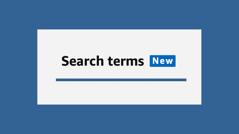 Amazon PPC Search Terms