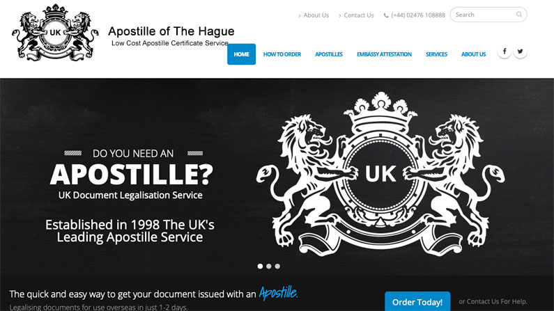 Hague Apostille Amazon FBA Spain