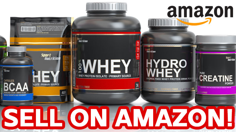 Sell supplements on Amazon
