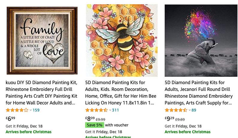 5D Painting Kits Amazon FBA