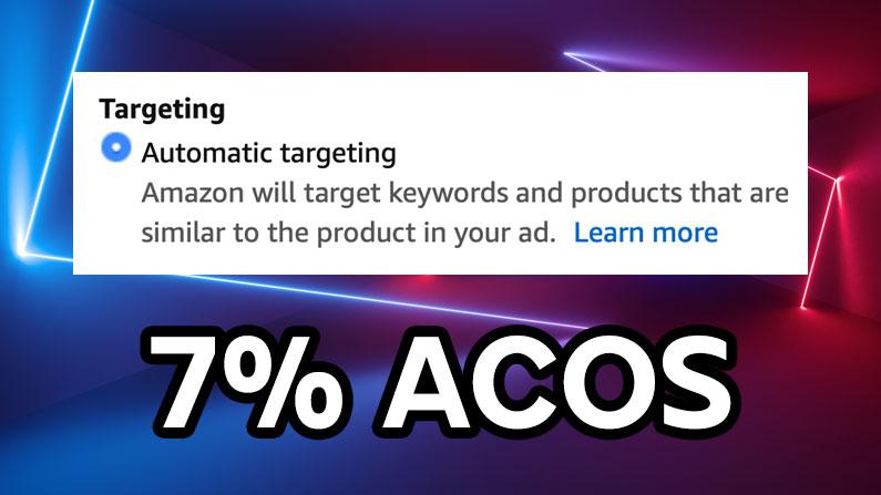 Amazon Auto PPC campaigns