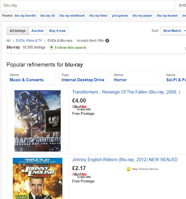 ebay-search-blu-ray