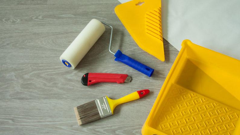 Paint brush set