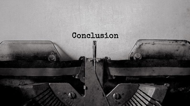 Conclusion Amazon Errors
