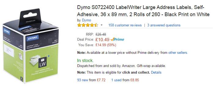 dymo-original-labels