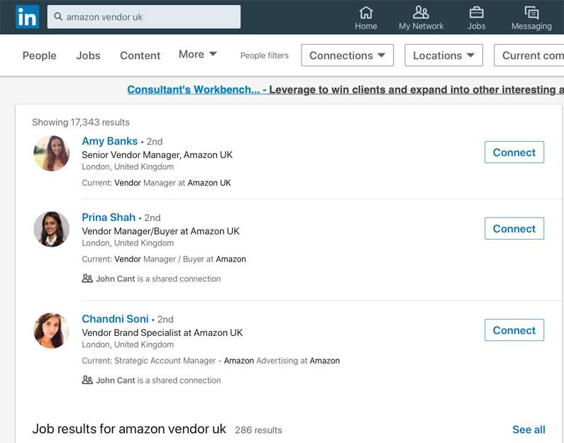 Amazon Vendor Program Managers