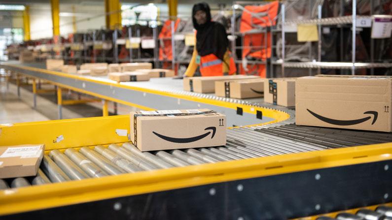 Amazon FBA warehouse