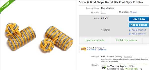 cufflinks-on-ebay
